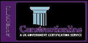 accreditations: Constructionline logo